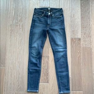 Paige Ultra Skinny Hoxton jeans size 27.